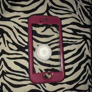 Pink iPhone 7 Lifeproof Nuud case